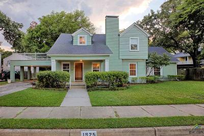 Tyler Single Family Home For Sale: 1925 Hilltop