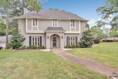 Tyler Single Family Home For Sale: 5811 Foxcroft Rd