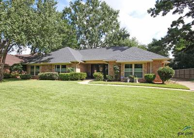 Tyler Single Family Home For Sale: 3311 Pinecreek