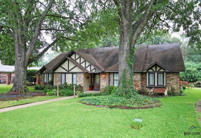 Tyler Single Family Home For Sale: 4911 Trenton