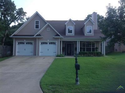 Tyler Single Family Home For Sale: 215 Cambridge Rd.