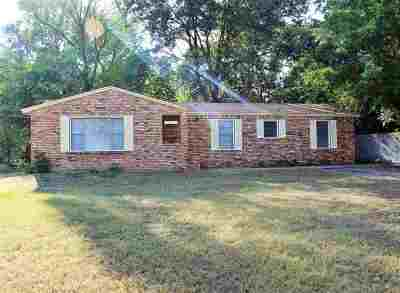 Mt Pleasant TX Single Family Home For Sale: $113,600