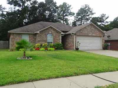 Tyler Single Family Home For Sale: 3345 Blanco Drive