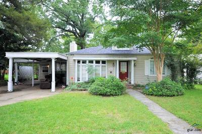 Longview Single Family Home For Sale: 703 Noel Dr