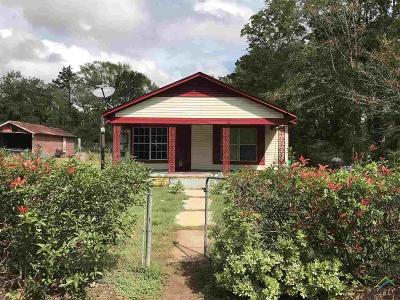 Kilgore Single Family Home For Sale: 3830 W Fm 1252