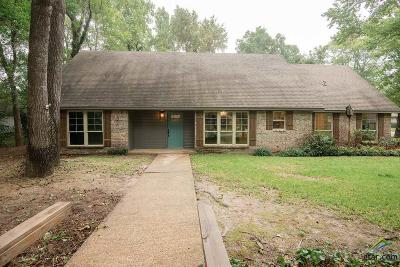 Tyler Single Family Home For Sale: 1116 Wilmington Place