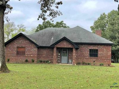 Kilgore Single Family Home For Sale: 3058 Fm 2276