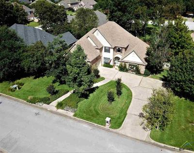 Tyler Single Family Home For Sale: 2210 Woodlands Dr
