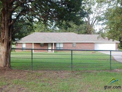 Upshur County Single Family Home For Sale: 13569 State Hwy 154