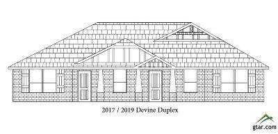 Tyler Multi Family Home For Sale: 2017/2019 Devine