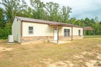 Upshur County Single Family Home For Sale: 160 Pr 4098