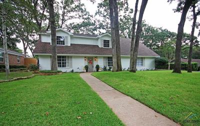 Tyler Single Family Home For Sale: 3322 S Cameron
