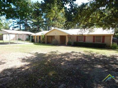 Upshur County Single Family Home For Sale: 712 Wiley Blvd