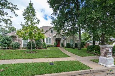 Tyler Single Family Home For Sale: 2017 Holly Hill Drive