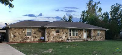 Quitman TX Single Family Home For Sale: $184,900
