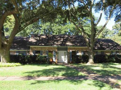 Tyler Single Family Home For Sale: 2701 S Chilton