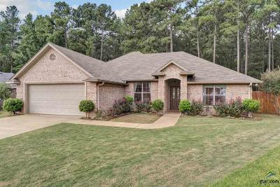 Tyler Single Family Home For Sale: 1647 Crockett Drive