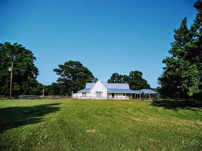 Upshur County Single Family Home For Sale: 7506 Fox