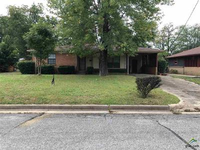 Tyler Single Family Home For Sale: 510 W 29th Street