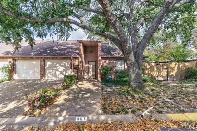 Tyler Condo/Townhouse For Sale: 401 Amberwood Cir