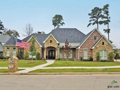 Tyler TX Single Family Home For Sale: $698,000
