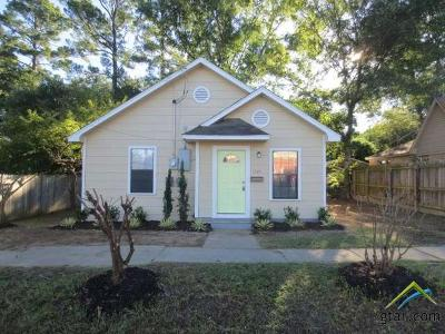 Tyler TX Single Family Home For Sale: $108,500