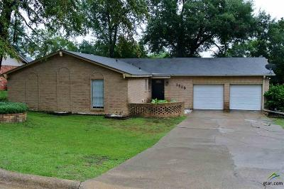 Jacksonville TX Single Family Home For Sale: $125,000