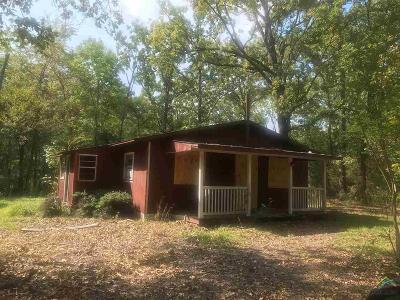 Flint TX Single Family Home For Sale: $25,000