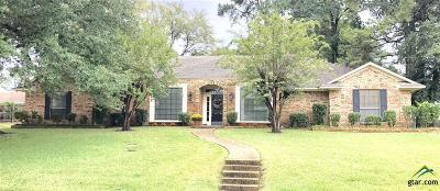 Tyler Single Family Home For Sale: 1605 Trail Ridge