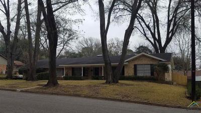 Tyler Single Family Home For Sale: 3412 Pollard