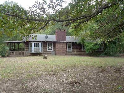 Upshur County Single Family Home For Sale: 114 Pine Street