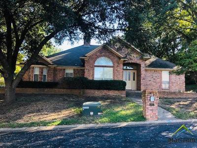 Tyler Single Family Home For Sale: 203 Lansdowne Terrace