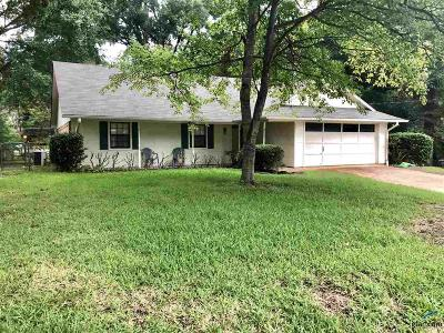 Tyler TX Single Family Home For Sale: $149,900