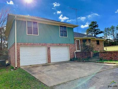 Tyler TX Single Family Home For Sale: $185,000