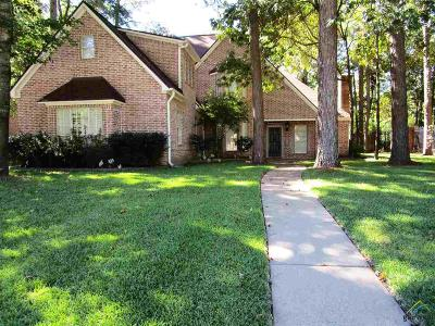 Tyler Single Family Home For Sale: 3601 Woods Blvd