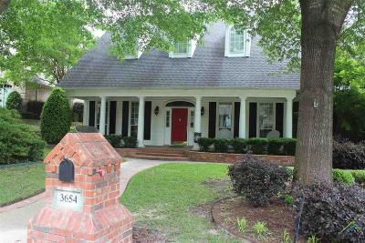Tyler Single Family Home For Sale: 3654 Canyon Creek