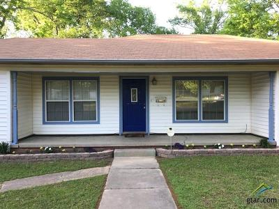 Kilgore Single Family Home For Sale: 615 Camp Street
