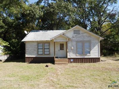 Mineola TX Single Family Home For Sale: $68,800