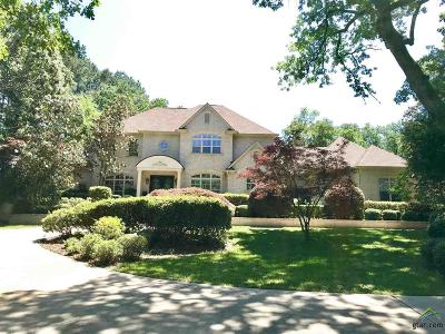 Tyler Single Family Home For Sale: 3015 Stonegate Blvd