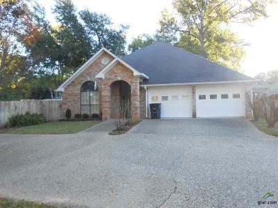 Tyler Single Family Home For Sale: 2810 Crestview