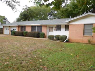 Tyler Single Family Home For Sale: 110 Stanford