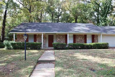 Tyler Single Family Home For Sale: 3715 S. Cameron