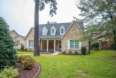 Tyler Single Family Home For Sale: 4535 Triggs Trace