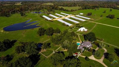 Quitman Farm For Sale: 3447 N Fm 14