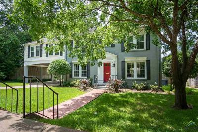 Tyler Single Family Home For Sale: 508 W 6th Street