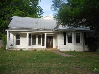 Grand Saline Single Family Home For Sale: 404 N Washington