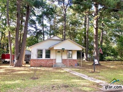 Hawkins TX Single Family Home For Sale: $74,900