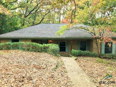 Tyler Single Family Home For Sale: 1701 Rose Rd.