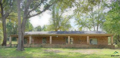 Longview Single Family Home For Sale: 2500 Hunt Rd
