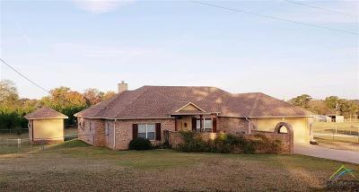 Gilmer Single Family Home For Sale: 2616 Bob O Link Rd